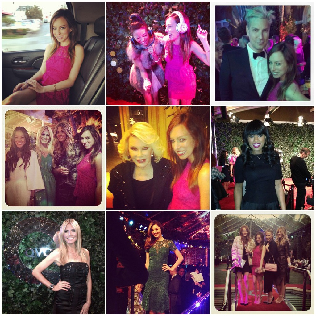 The Scene: QVC Oscars Party