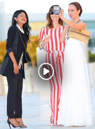 Video: Fashion Blogger Parties & How To Be Happy